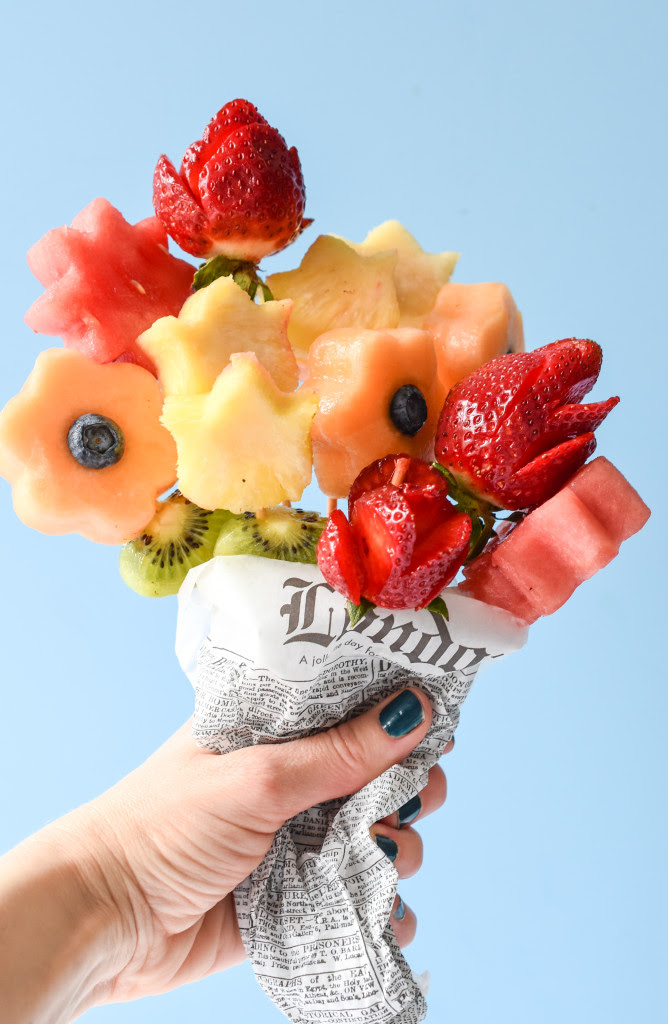 Edible Fruit Bouquets Fork And Beans
