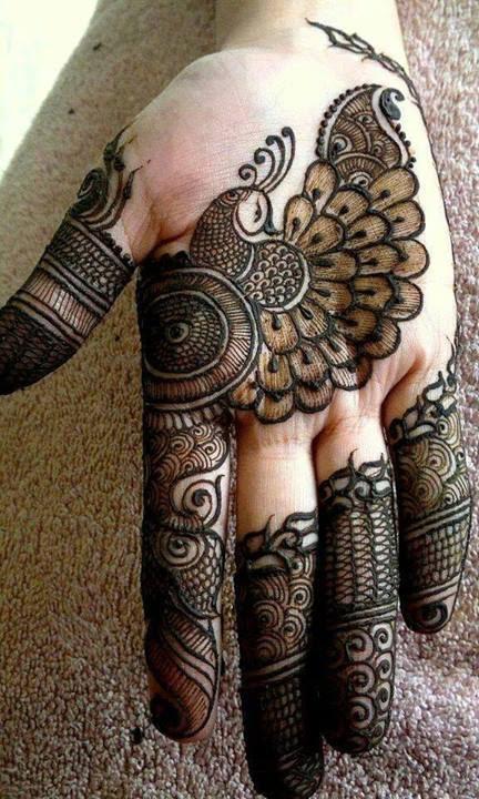 latest mehndi designs 2015