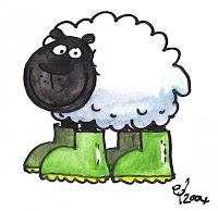 Sheep by Ed - moobaaquack.blogspot.com