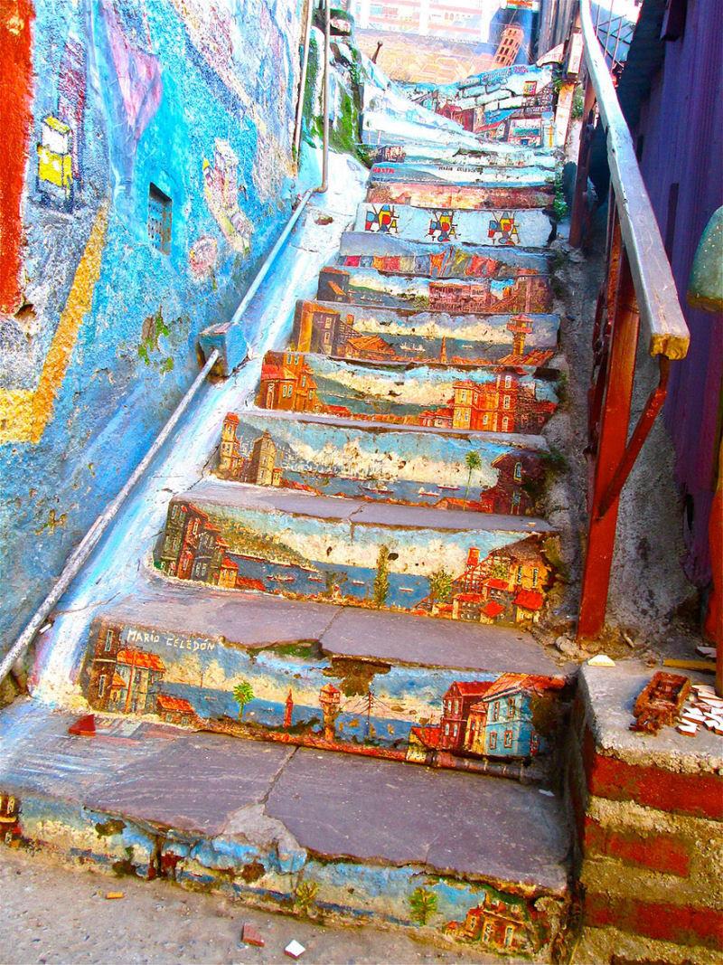 17 escadarias com as mais belas decorações urbanas do mundo 05