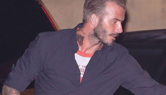 David Beckham Neck Tattoo Meaning Pictures Of Beckhams Neck Tattoos