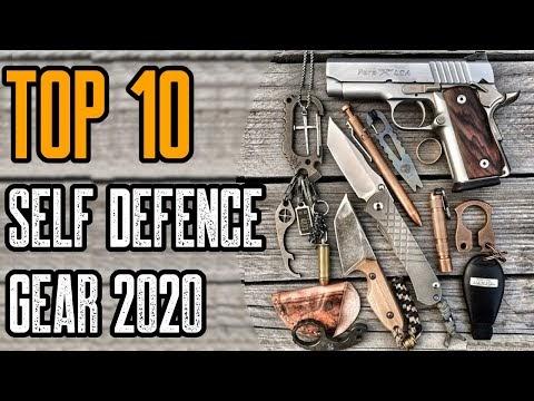 TOP 10 BEST SELF DEFENSE GADGETS & GEAR 2020