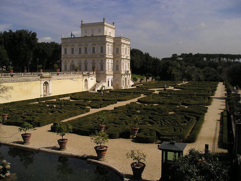 Fil: Villa Doria Pamphili giardini.JPG