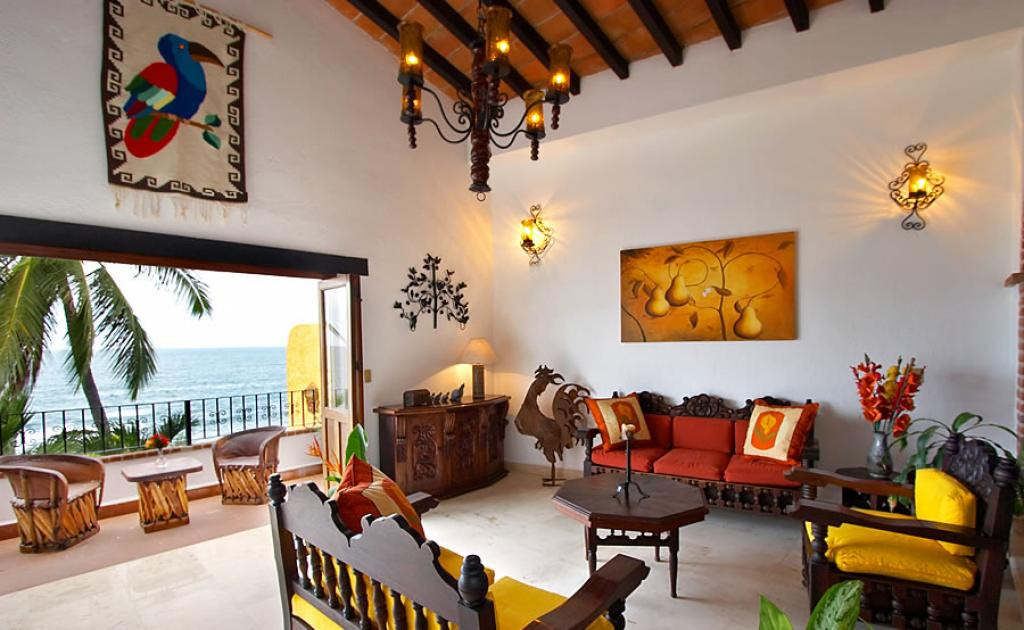 Mexican-style Interior Design: Garish And Effectively ...