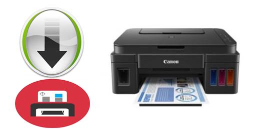 تحميل تعريف كانون Canon G2400 برامج طابعة & سكانر بيكسما