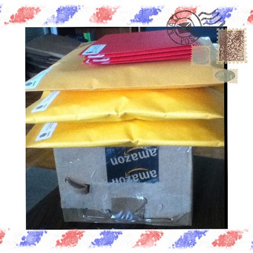 Etsy and #IGGPPC packages going out!