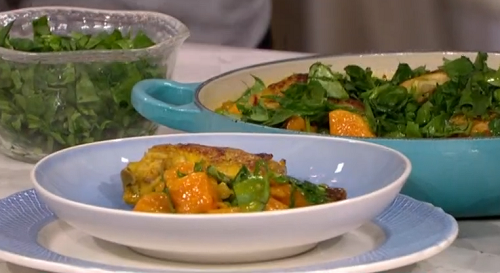 Dr Rupy chicken coconut curry recipe on This Morning - The ...