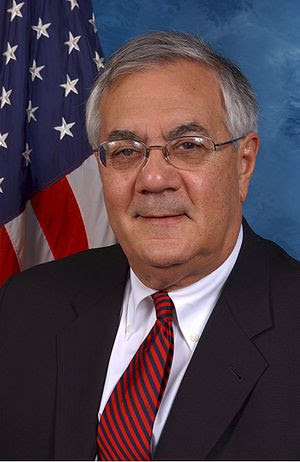 Representative Barney Frank, co-architect of t...