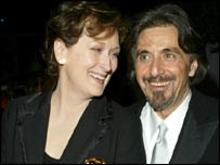 Meryl Streep og Al Pacino