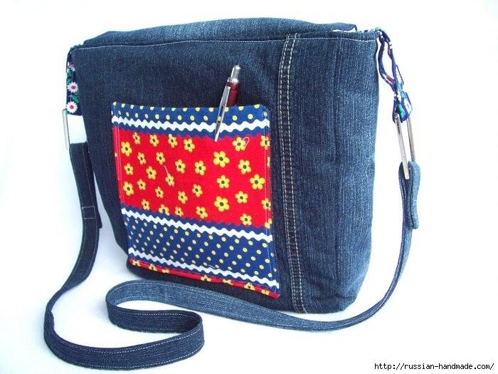 Модные сумки из старых джинсов (8) (700x525, 198Kb)