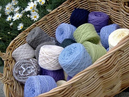 reclaimed yarns