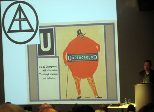 U is for Underground - Frank Pick talk at London Transport Museum