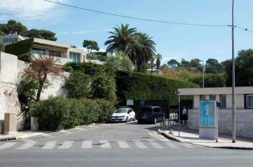 Vue de l'entrée du parc Talabot dans le quartier du Roucas-Blanc, à Marseille, le 14 août 2017 © BERTRAND LANGLOIS AFP