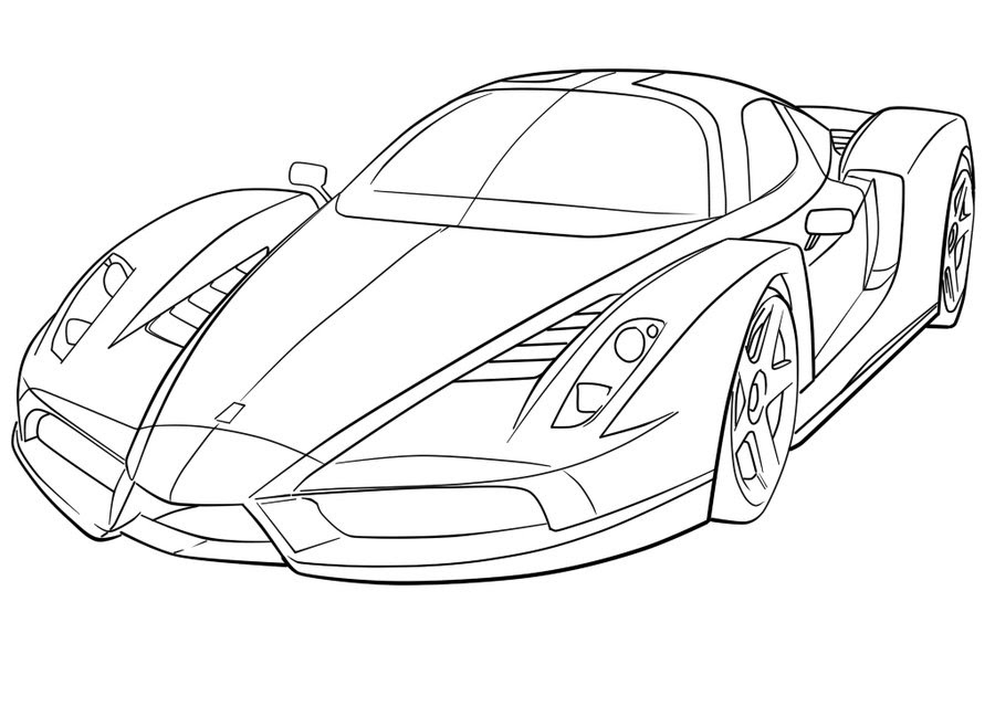 The Best Free Ferrari Drawing Images Download From 365 Free