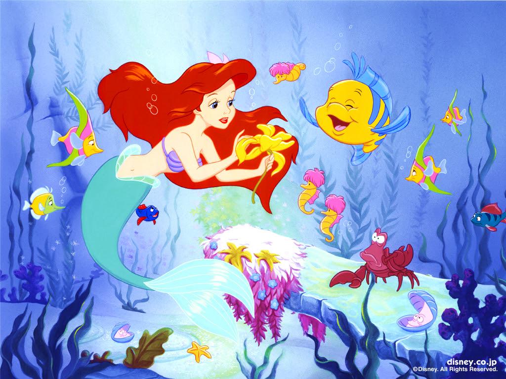 The Little Mermaid 壁紙 リトル マーメイド 壁紙 6260657