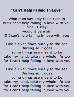 Can T Keep Falling In Love With You Lyrics