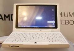 First AMD Turion 64 netbook