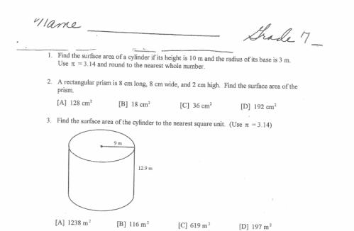 Math Worksheets For 8th Grade 8th Grade Online Math Worksheets