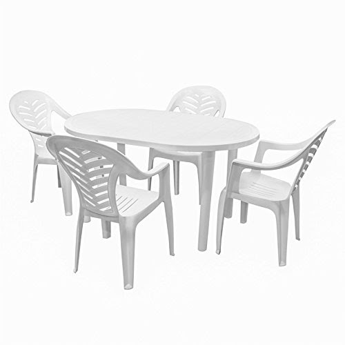 Stupendous Offer Resol Gala Oval Plastic Dinner Table 4 Palma Plastic Andrewgaddart Wooden Chair Designs For Living Room Andrewgaddartcom