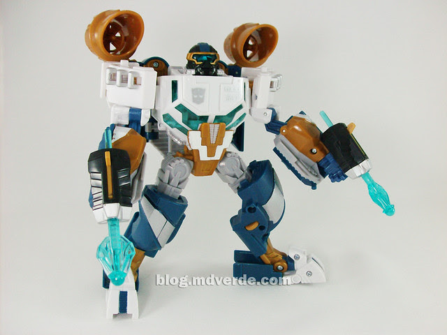 Transformers Seaspray Hunt for the Decepticons Voyager - modo robot