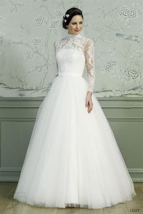 11 best Turtle neck wedding dress images on Pinterest
