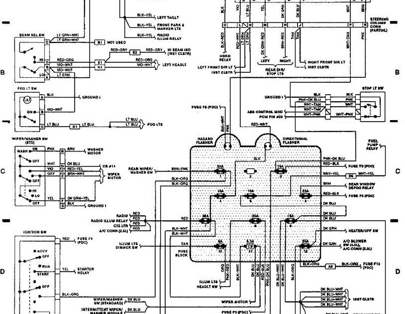 1989 Jeep Wrangler Heater Wiring Diagram