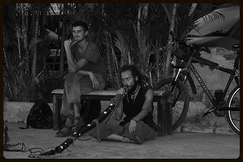 Da Mir Pan And Zlatko from Croatia at Carter Road Bandra by firoze shakir photographerno1