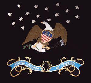 Les Drapeaux Régimentaires De Lus Infantry En 1812 Les