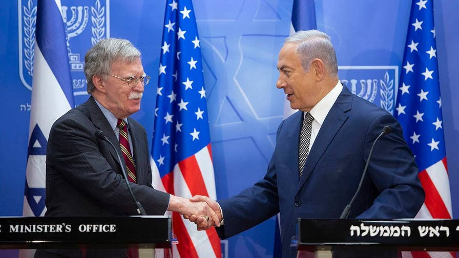 White House national security adviser meets with Israeli prime minister to discuss Syria, Gaza and Iranian 'aggress   ion'; Trey Yingst reports from Jerusalem.