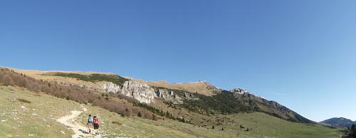 view of Costabella - Creste del Baldo from Valfredda