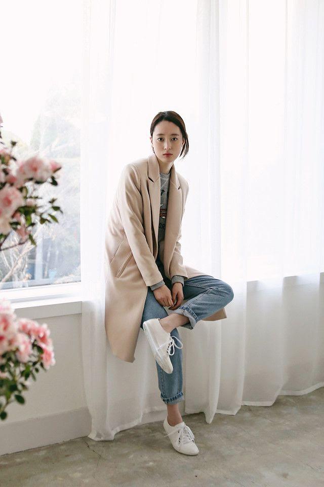 Le Fashion Blog: Casual Camel Coat, Denim & Sneakers -- Weekend Style Via Lookbook -- photo Le-Fashion-Blog-Casual-Camel-Coat-Denim-Sneakers-Weekend-Style-Via-Lookbook.jpg