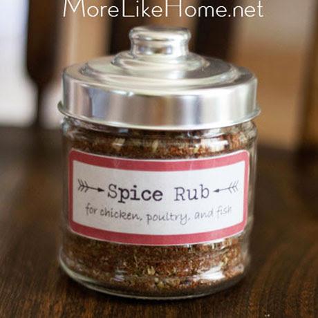 homemade spice rub grilling recipe