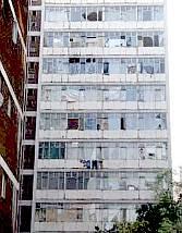 An apartment building
