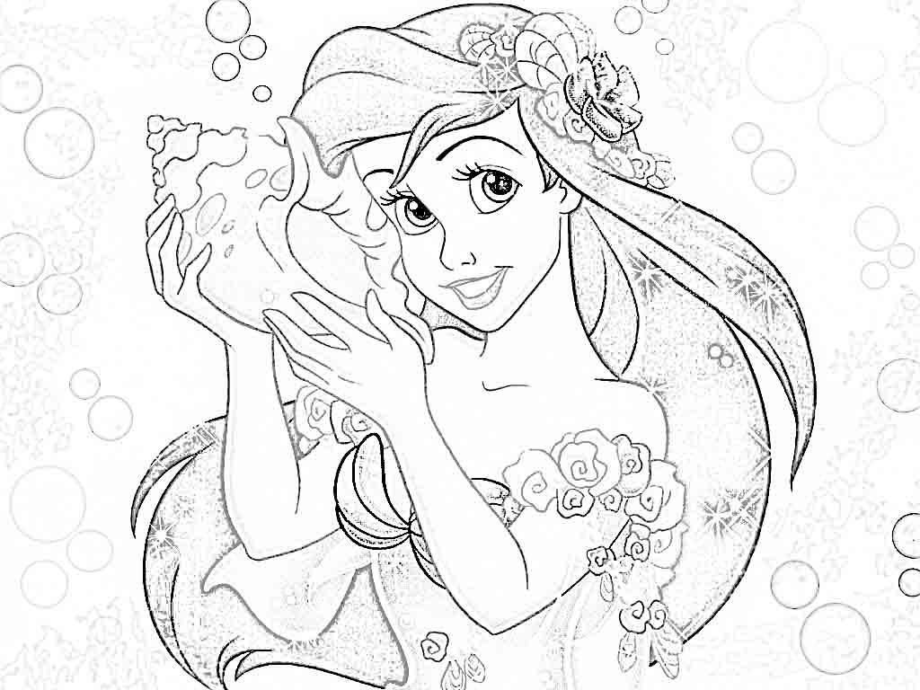 Disney Princess Adult Coloring Pages at GetDrawings | Free ...