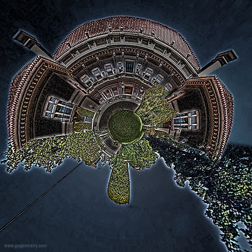 Huntington Art Gallery, Los Angeles, Stereographic Projection, iPad Apps