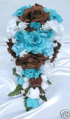 turquoise wedding flowers ideas  pinterest