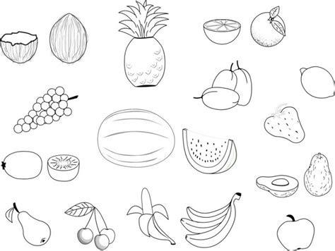 malvorlagen kostenlos obst - kostenlose malvorlagen ideen
