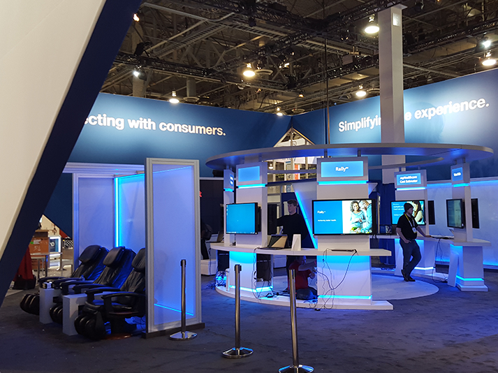 Ces 2016 Trade Show Exhibit For Unitedhealthcare