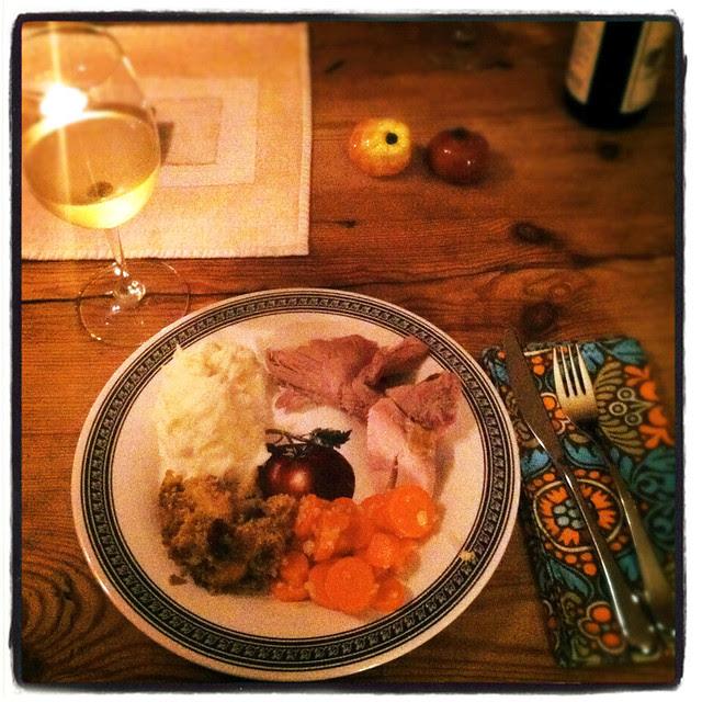 Thanksgiving: Dinner!