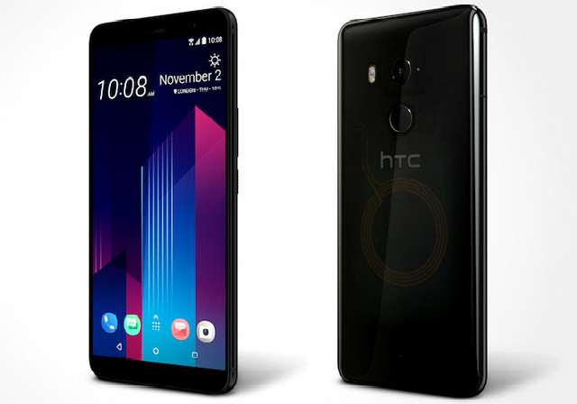 HTC U11 Plus Translucent Black