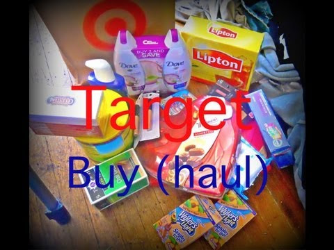 Target Buy (Haul)
