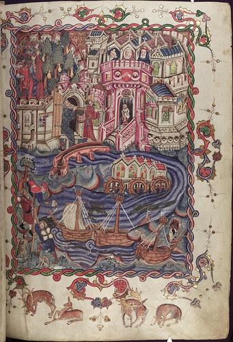 The Romance of Alexander 1r MS. Bodl. 264