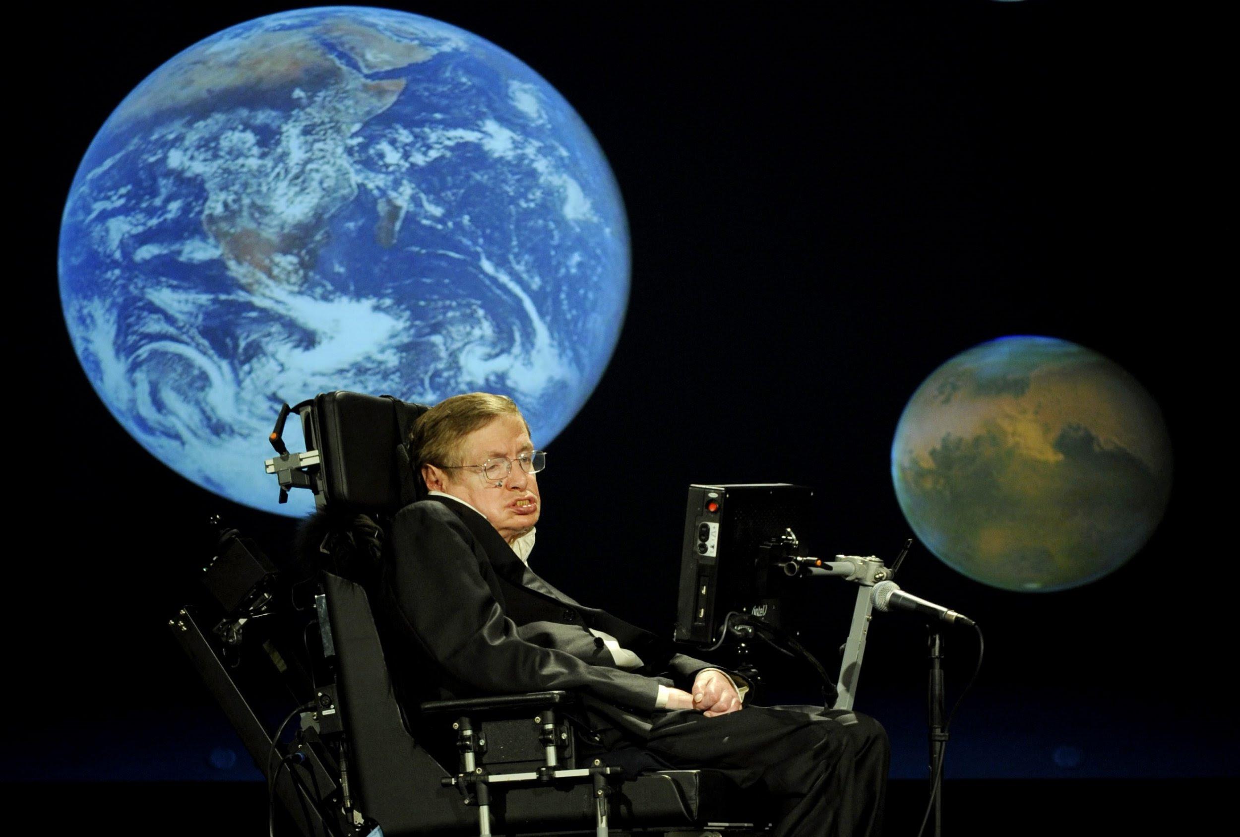 Risultati immagini per Stephen Hawking UFO