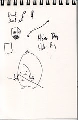 """Lost"" Sketchbook - page 12"