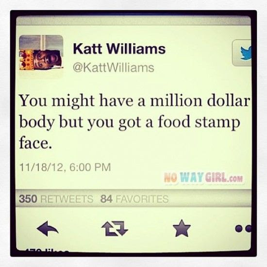 Funny Tweets: Food Stamp Face? Wow!