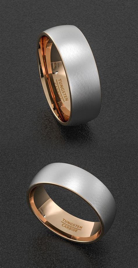 ideas  men wedding rings  pinterest