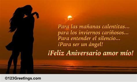 A Spanish Anniversary Card For Him. Free For Him eCards