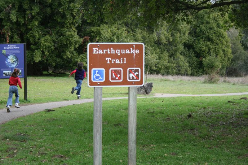 Earthquake Trail at Point Reyes