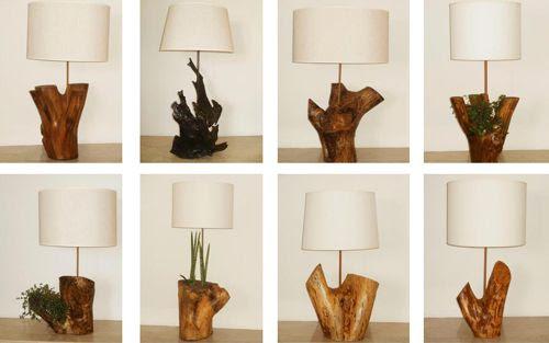 Lámparas de noche Eco, de Simone Lescher