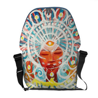 Nathan Jalani Taylor, Spirit Messenger Bag at Zazzle